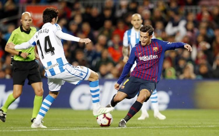 «Барселона» – «Реал Сосьедад» – 1:1. 20.04.2019. Чемпионат Испании. Обзор и видео матча
