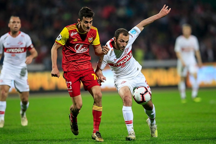 Тульский «Арсенал» нанес сокрушительное поражение «Спартаку»