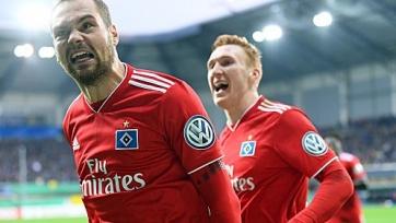 «Гамбург» вышел в полуфинал Кубка Германии