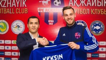 «Акжайык» подписал полузащитника