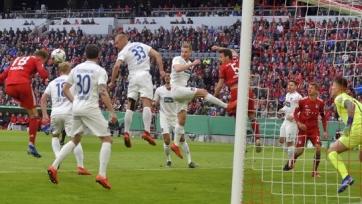 «Бавария» в меньшинстве обыграла «Хайденхайм» и вышла в полуфинал Кубка Германии
