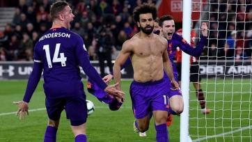 «Ливерпуль» добыл волевую победу над «Саутгемптоном»
