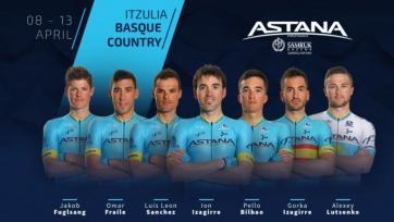 «Астана» назвала состав на многодневку «Тур Страны Басков»