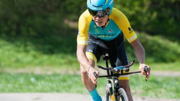 Казахстанский велогонщик - 18-й на третьем этапе «Тура Лангкави»