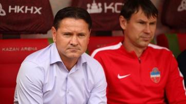 Аленичев: «У нас не было серьезных голевых моментов, «Уфа» была ближе к победе»