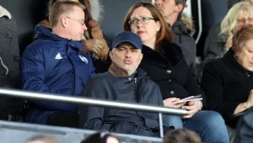 Моуринью побывал на матче «Фулхэм» – «Эвертон»