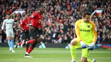 Дубль Погба с пенальти вернул «Манчестер Юнайтед» на победную тропу