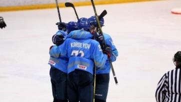 Юниорская сборная Казахстана разобралась с Францией