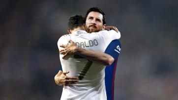 Целующиеся Месси и Роналду, уверенный Гвардиола, таланты Франции