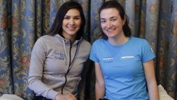 Состав женской команды «Астаны» на велогонку Brabantse Pijl