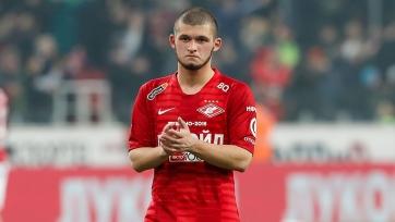 Гулиев вернулся в общую группу «Спартака»