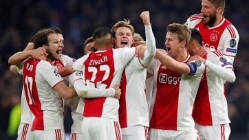 Матчи чемпионата Нидерландов перенесены из-за участия «Аякса» в ЛЧ