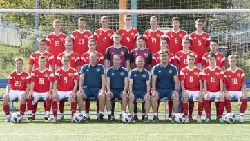 Юношеская сборная России переиграла Румынию