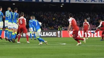 «Арсенал» спокойно разобрался с «Наполи» и в выездном поединке