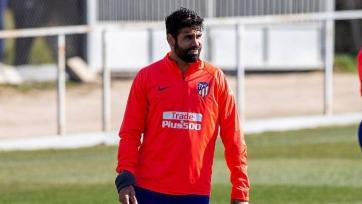 Диего Коста извинился и вернулся к тренировкам с «Атлетико»