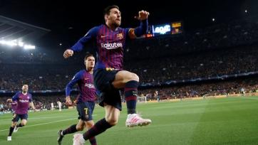 Гол Месси признан лучшим в Лиге чемпионов на этой неделе