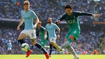 «Манчестер Сити» с минимальным счетом одолел «Тоттенхэм»