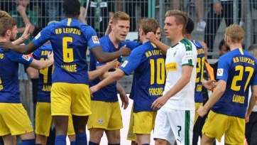 «Лейпциг» в Менхенгладбахе переиграл «Боруссию»