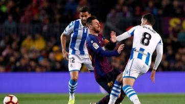 «Барселона» – «Реал Сосьедад» – 2:1. Текстовая трансляция матча