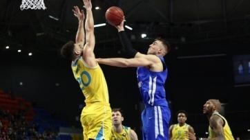 «Астана» переиграла «Енисей» в Единой лиге ВТБ