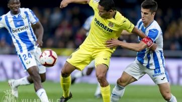 «Вильярреал» взял три очка в матче с «Леганесом»