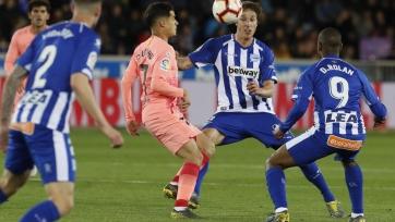 «Алавес» – «Барселона» – 0:2. Текстовая трансляция матча