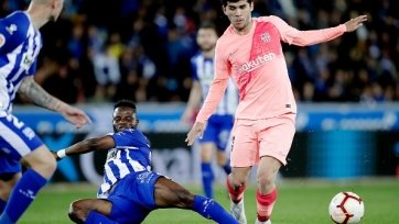 «Барселона» в гостях уверенно обыграла «Алавес»
