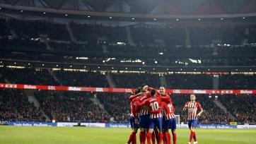 «Атлетико» объявил заявку на поединок против «Валенсии»