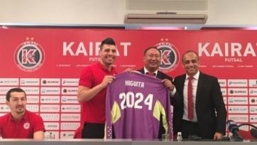 Футзальный «Кайрат» продлил контракт с лучшим вратарем мира