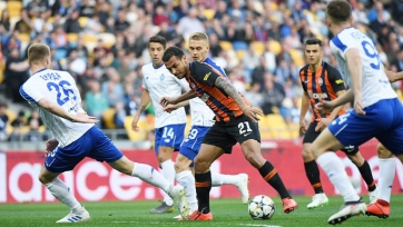 Киевское «Динамо» и «Шахтер» сыграли вничью