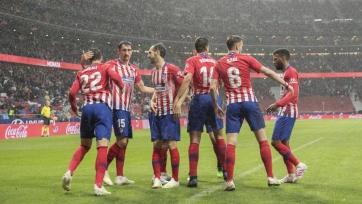 «Атлетико» и «Валенсия» забили пять мячей на двоих