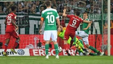 «Бавария» победила «Вердер» и вышла в финал Кубка Германии