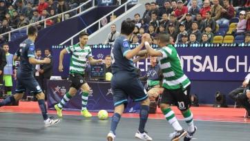 Португальский «Спортинг» вышел в финал Финала четырех футзальной Лиги чемпионов УЕФА