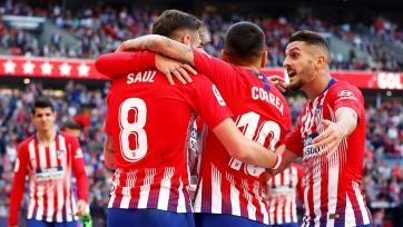 «Атлетико» минимально победил «Вальядолид»