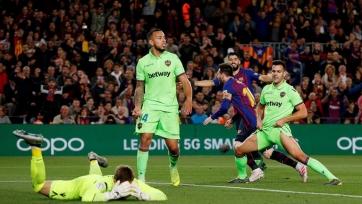 «Барселона» обеспечила себе титул чемпиона Испании победой над «Леванте»