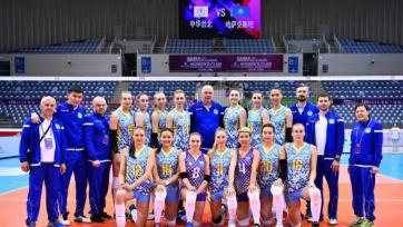 Волейболистки «Алтая» с победы стартовали на клубном чемпионате Азии