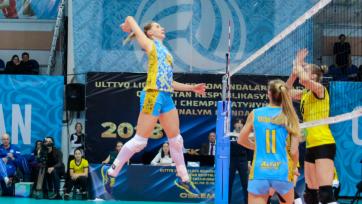Волейболистки «Алтая» одержали вторую победу на клубном чемпионате Азии