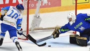 Сборная Казахстана с победы стартовала на чемпионате мира