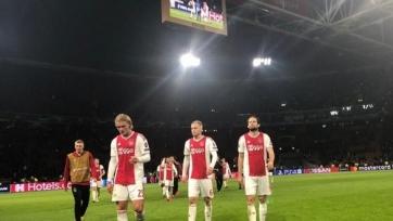 «Аякс» достиг рекордной голевой серии в выездных матчах Лиги чемпионов