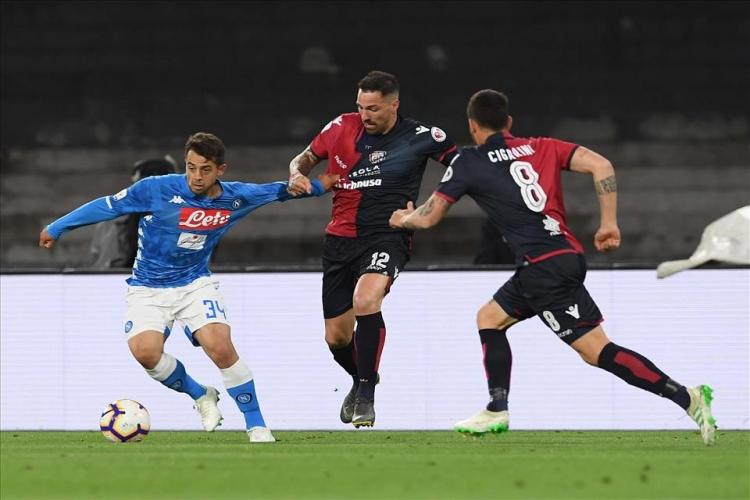 «Наполи» – «Кальяри» – 2:1. 05.05.2019. Чемпионат Италии. Обзор и видео матча