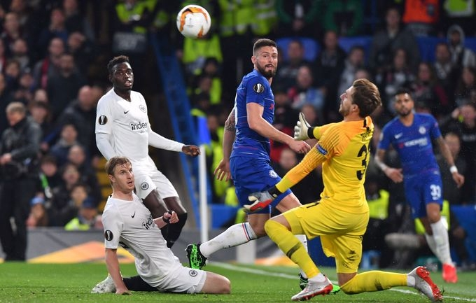 «Челси» обыграл «Айнтрахт» в серии послематчевых пенальти и стал вторым финалистом Лиги Европы