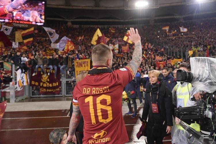 Как «Рома» прощалась с Де Росси. ФОТО