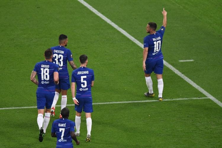 «Челси» одержал победу в Лиге Европы, уверенно обыграв «Арсенал»