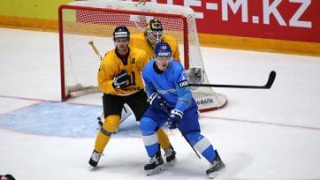 Хоккей. Казахстан одержал вторую победу на домашнем чемпионате мира. Видео