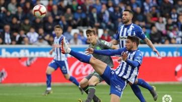 «Реал Сосьедад» минимально победил «Алавес»