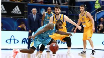 «Астана» крупно уступила «Химкам» в первом матче 1/4 финала Единой лиги
