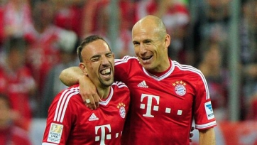 «Бавария» организует прощальный матч для Рибери и Роббена