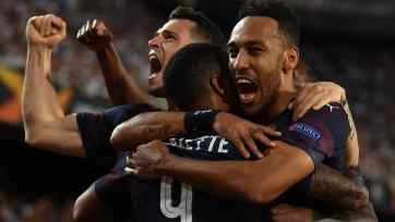 «Арсенал» на «Месталье» обыграл «Валенсию и стал финалистом Лиги Европы