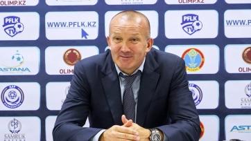 Григорчук – лучший тренер чемпионата Казахстана в апреле