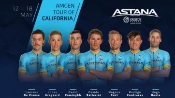 «Астана» объявила состав на «Тур Калифорнии»
